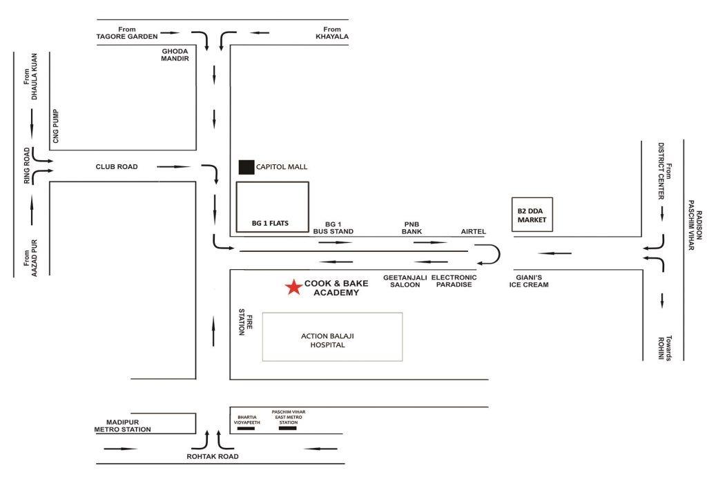 location map caba